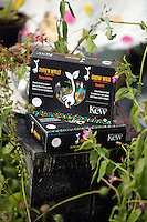 Pictured: Boxes of seeds by Kew Saturday 13 August 2016<br />