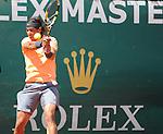 Rafael Nadal wins final at Monte Carlo on April 22, 2012
