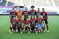 Pictured: Wednesday 13 May 2015<br /> Re: Swansea City FC U21 v Huddersfield Town U21 at the Liberty Stadium, south Wales, UK