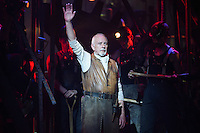 """David Essex<br /> in the musical of """"The War of the Worlds"""" at the Dominion Theatre, London.<br /> <br /> <br /> ©Ash Knotek  D3083 12/02/2016"""