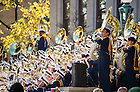 """Oct 11, 2014; Notre Dame Marching Band """"Concert on the Steps"""" before the North Carolina game. (Photo by Matt Cashore)"""