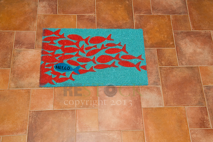 Fish Welcome Mat