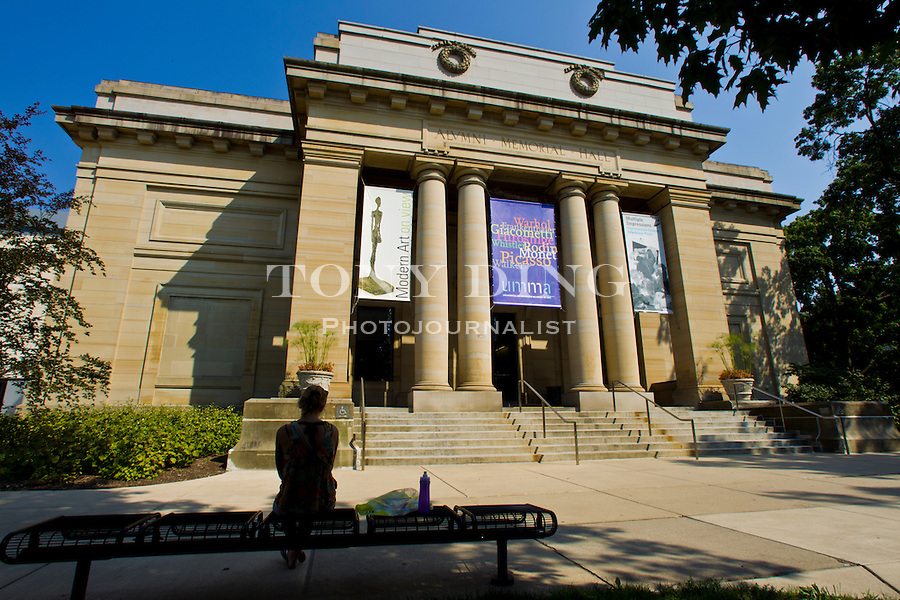 The University of Michigan's Museum of Art, Friday, Sept. 2, 2011 in Ann Arbor, Mich. (Tony Ding for The New York Times)