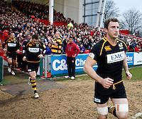 Photo: Richard Lane/Richard Lane Photography. Gloucester Rugby v London Wasps. Aviva Premiership. 26/12/2011. Wasps' Ed O'Donoghue.
