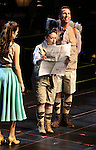 """Laura Osnes, Rachel Dratch and  Jack McBrayer during the Manhattan Concert Productions 25th Anniversary concert performance of """"Crazy for You"""" at David Geffen Hall, Lincoln Center on February 19, 2017 in New York City."""