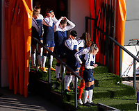 Tottenham Women players line up in the tunnel during Tottenham Hotspur Women vs Reading FC Women, Barclays FA Women's Super League Football at the Hive Stadium on 7th November 2020