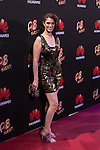 Ruth Gabriel poses during Huawei presentation at Bodevil theater in Madrid, Spain. June 10, 2015. (ALTERPHOTOS/Victor Blanco)
