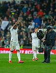 Real Madrid CF's Vinicius Jr celebs his victory La Liga match. Mar 01, 2020. (ALTERPHOTOS/Manu R.B.)
