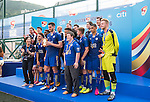 Leicester City are the Shield Final Winners of the Main tournament of the HKFC Citi Soccer Sevens on 22 May 2016 in the Hong Kong Footbal Club, Hong Kong, China. Photo by Li Man Yuen / Power Sport Images