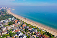 BNPS.co.uk (01202 558833)<br /> Pic: Savills/BNPS<br /> <br /> Pictured: The panoramic sea view.<br /> <br /> A clifftop home with breathtaking panoramic sea views is on the market for £3.25m.<br /> <br /> Sandpierre also has a private swimming pool and a viewing platform overlooking the beach with 180-degree views of the water. <br /> <br /> The six-bedroom family home is on the Bournemouth/Poole coastline in Dorset and is being sold for the first time in 25 years.<br /> <br /> The house was built in the 1930s and is in a quiet cul-de-sac in Branksome Dene Chine - midway between the town centres of Bournemouth and Poole.