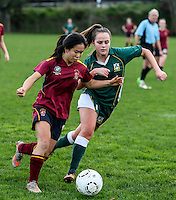 160727 Girls' College Football - Kings College v Lynfield College 1st XI