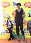 David Daniel Otunga, Jr., Jennifer Hudson attends 2015 Nickelodeon Kids' Choice Awards  held at The Forum in Inglewood, California on March 28,2015                                                                               © 2015 Hollywood Press Agency