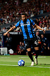 Club Brugge's Arnaut Danjuma during UEFA Champions League match between Atletico de Madrid and Club Brugge at Wanda Metropolitano Stadium in Madrid, Spain. October 03, 2018. (ALTERPHOTOS/A. Perez Meca)