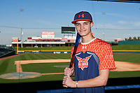 Daniel Cohen during the Under Armour All-America Tournament powered by Baseball Factory on January 17, 2020 at Sloan Park in Mesa, Arizona.  (Zachary Lucy/Four Seam Images)