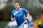 St Johnstone v Dundee…11.03.17     SPFL    McDiarmid Park<br />Blair Alston celebrates his goal<br />Picture by Graeme Hart.<br />Copyright Perthshire Picture Agency<br />Tel: 01738 623350  Mobile: 07990 594431
