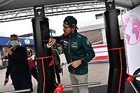 2nd September 2021: Circuit Zandvoort,  Zandvoort, Netherlands;   Sebastian Vettel DEU 5 , Aston Martin Cognizant Formula One Team Formula 1 Heineken Dutch Grand Prix 2021, 13th round of the 2021 FIA Formula One World Championship