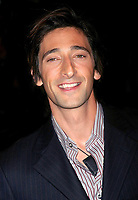 """ADRIEN BRODY 09/09/2003<br /> THE NEW YORK PREMIERE OF<br /> """"DUMMY"""". SONY LINCOLN SQUARE, NYC<br /> Photo By John Barrett/PHOTOlink.net"""