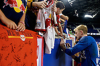 Harrison, NJ - Wednesday Aug. 03, 2016: Ryan Meara during a CONCACAF Champions League match between the New York Red Bulls and Antigua at Red Bull Arena.
