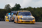 NASCAR Camping World Truck Series<br /> Chevrolet Silverado 250<br /> Canadian Tire Motorsport Park<br /> Bowmanville, ON CAN<br /> Sunday 3 September 2017<br /> Todd Gilliland, Pedigree Toyota Tundra and Parker Kligerman, Food Country USA / Lopez Wealth Management Toyota Tundra<br /> World Copyright: Russell LaBounty<br /> LAT Images