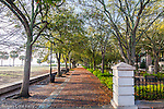 Waterfront Park in Charleston, South Carolina, USA