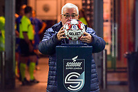 match ball pictured before a female soccer game between AA Gent Ladies and SV Zulte-Waregem on the fifth matchday in the 2021 - 2022 season of Belgian Scooore Womens Super League , friday 1 October 2021  in Oostakker , Belgium . PHOTO SPORTPIX | STIJN AUDOOREN