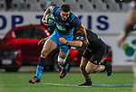 Sonny Bill Williams of the Blues during the Super Rugby Match between the Blues and the Chiefs, Eden Park, Auckland,  New Zealand. Friday 26  May 2017. Photo: Simon Watts / www.bwmedia.co.nz