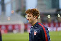 TORONTO, ON - OCTOBER 15: Josh Sargent #19 of the United States walks around the field prior to the start of the game during a game between Canada and USMNT at BMO Field on October 15, 2019 in Toronto, Canada.
