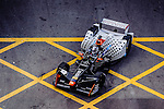 Jerome D.Ambrosio of Faraday Future Dragon Racing during the first stop of the FIA Formula E Championship HKT Hong Kong ePrix at the Central Harbourfront Circuit on 9 October 2016, in Hong Kong, China. Photo by Marcio Rodrigo Machado / Power Sport Images