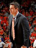 CHARLOTTESVILLE, VA- NOVEMBER 29: Head coach Tony Bennett of the Virginia Cavaliers watches a play during the game on November 29, 2011 at the John Paul Jones Arena in Charlottesville, Virginia. Virginia defeated Michigan 70-58. (Photo by Andrew Shurtleff/Getty Images) *** Local Caption *** Tony Bennett