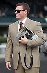 April 18, 2014 Norman Casse, son and assistant trainer to Mark Casse, trainer of Doubledogdare winner