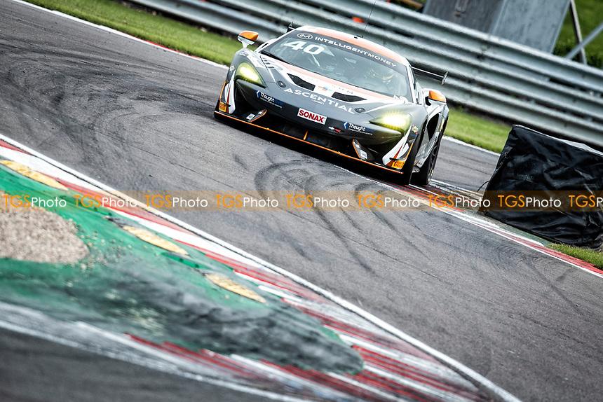 Nick Halstead & Jamie Stanley, McLaren 570S GT4, Fox Motorsport through Fogarty Esses during the British GT & F3 Championship on 10th July 2021