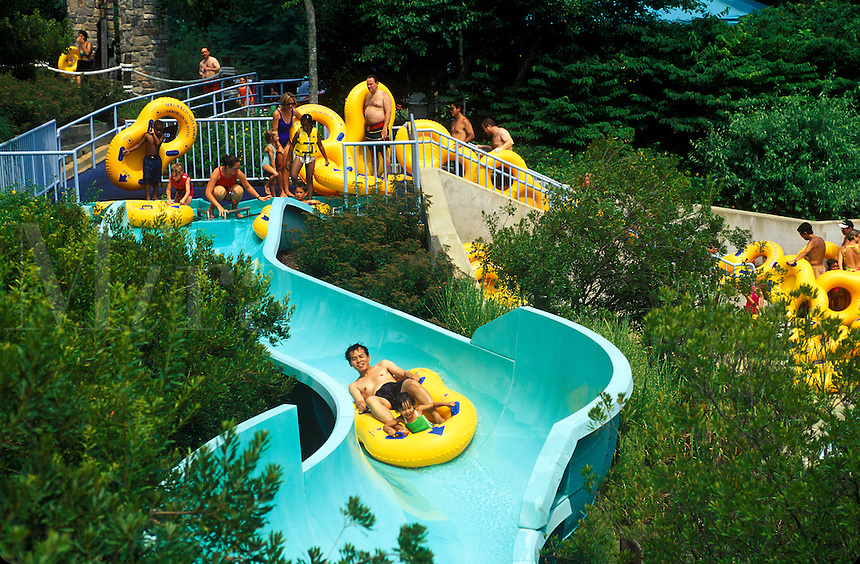 Water slide, Willimsburg, Virginia