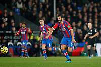 James Tomkins of Crystal Palace in action during the Premier League match between Crystal Palace and Brighton and Hove Albion at Selhurst Park, London, England on 16 December 2019. Photo by Carlton Myrie / PRiME Media Images.