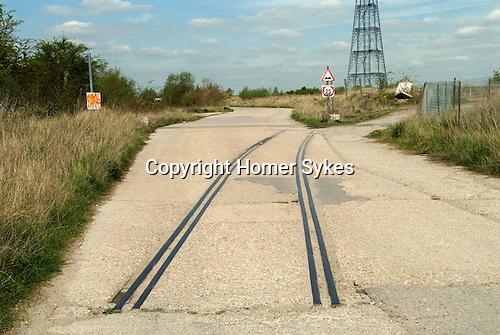 Swanscombe Peninsula Kent, site of the £2billion amusement theme park. 2014.