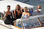 78th Venice Film Festival  at the Lido in Venice, Italy on September 7, 2021. General view and  Celebrity Sightings from left, Patricia Contreras, Maja Malnar and Hofit Golan