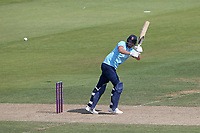 Paul Walter hits 4 runs for  Essex during Hampshire Hawks vs Essex Eagles, Royal London One-Day Cup Cricket at The Ageas Bowl on 22nd July 2021