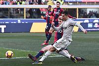 Cristiano Ronaldo<br /> Bologna 24-02-2019 Stadio Dall'Ara <br /> Football Serie A 2018/2019 Bologna - Juventus<br /> Foto Image Sport / Insidefoto