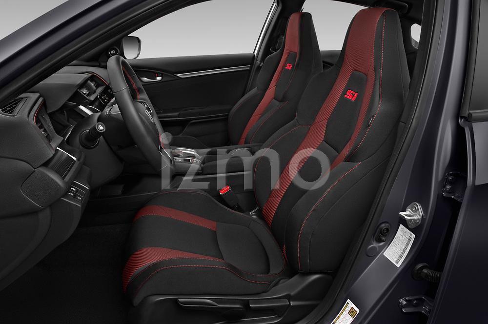 Front seat view of 2020 Honda Civic-Si-Sedan Si 4 Door Sedan Front Seat  car photos