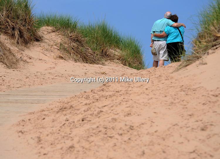 Sleeping Bear Sand Dunes, Empire, Michigan. June 25, 2011...