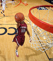Nov 6, 2010; Charlottesville, VA, USA; Roanoke College g Melvin Felix (12) shoots the ball Saturday afternoon in exhibition action at John Paul Jones Arena. The Virginia men's basketball team recorded an 82-50 victory over Roanoke College.