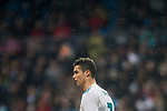 Cristiano Ronaldo of Real Madrid looks on during the La Liga 2017-18 match between Real Madrid and Villarreal CF at Santiago Bernabeu Stadium on January 13 2018 in Madrid, Spain. Photo by Diego Gonzalez / Power Sport Images