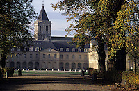 Europe/France/Normandie/Basse-Normandie/14/Calvados/Caen: L'abbaye-aux-Dames (Architecture romane et mauriste)
