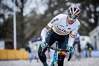 Felipe Orts (ESP/Teika-BH-Gsport)<br /> <br /> Elite Men's Race<br /> Zilvermeercross Mol (BEL) 2021<br /> <br /> ©Kramon