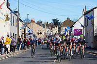 Picture by Alex Whitehead/SWpix.com - 30/04/2016 - Cycling - 2016 Asda Women's Tour de Yorkshire: Otley to Doncaster - Yorkshire, England - peloton.
