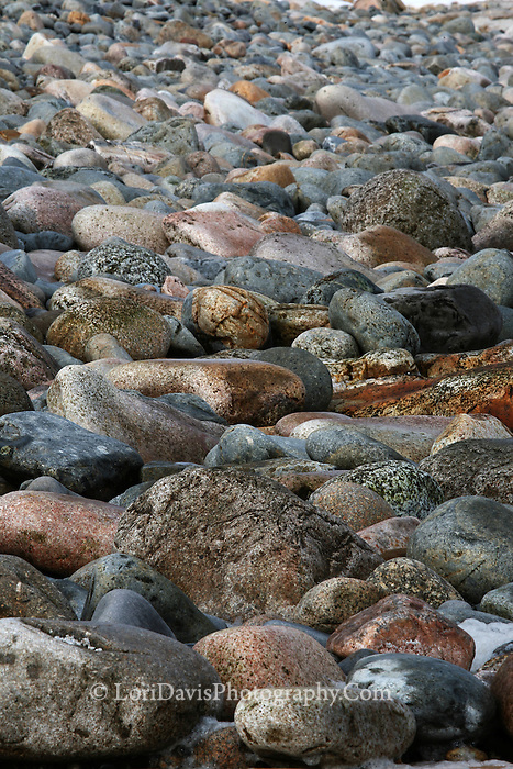 Cobblestones from the Seawall #A79