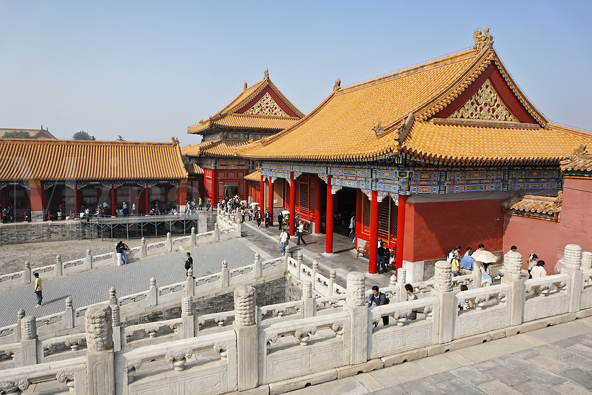 Forbidden City, Beijing, China, Asia