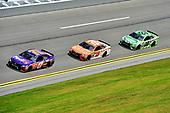 2017 NASCAR Cup - Clash at Daytona<br /> Daytona International Speedway, Daytona Beach, FL USA<br /> Sunday 19 February 2017<br /> Denny Hamlin, FedEx Express Toyota Camry, Daniel Suarez, ARRIS Toyota Camry, Kyle Busch, M&M's Toyota Camry.<br /> World Copyright: John K Harrelson/LAT Images<br /> <br /> <br /> ref: Digital Image 17DAY1jh_01704