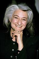 Montreal (Qc) CANADA, File Photo, circa 1995<br /> Marie Laberge.<br /> 29 novembre 1950 à Québec - ) est une dramaturge, une romancière, une comédienne et une metteur en scène québécoise. Dans la Francophonie, elle est surtout connue pour son travail de dramaturge, alors qu'au Canada, elle est surtout connue pour son œuvre littéraire<br /> photo : (c) images Distribution
