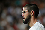 Real Madrid´s Isco Alarcon during Santiago Bernabeu Trophy match at Santiago Bernabeu stadium in Madrid, Spain. August 18, 2015. (ALTERPHOTOS/Victor Blanco)