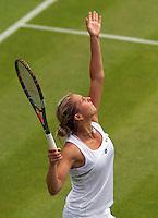 21-06-10, Tennis, England, Wimbledon, Maria Elena Camarin